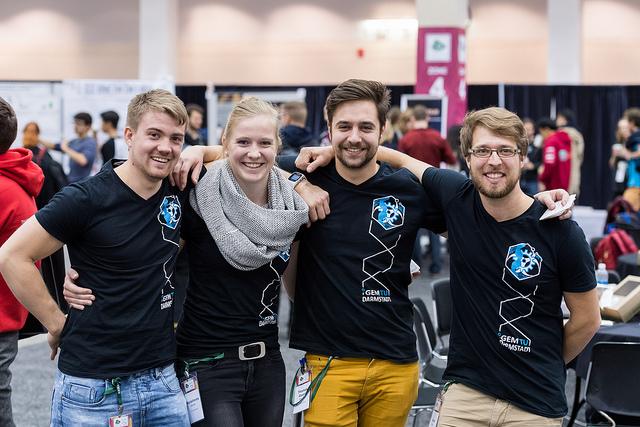 iGEM 2017 team photo