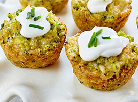 Picture of: Broccoli Cheddar Bites