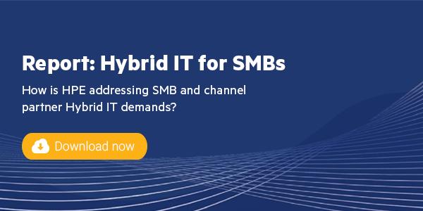 Addressing Hybrid IT demands for <br> growing businesses
