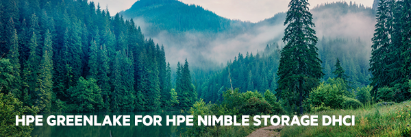 HPE GreenLake for HPE Nimble Storage dHCI solution brief
