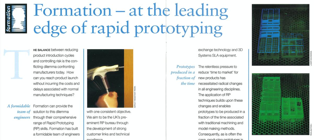 30 years of Rapid prototyping