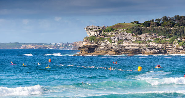 Bondi Surfer No. 102 Bondi Blue Water Challenge