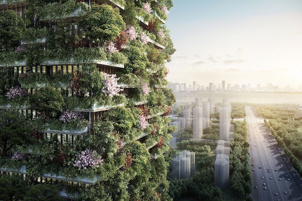 THE VERTICAL FOREST IS COMING TO NANJING, CHINA TO CLEAN THE AIR