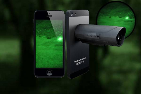WANNA TURN YOUR SMARTPHONE INTO NIGHT VISION GOGGLES? SURE YOU DO