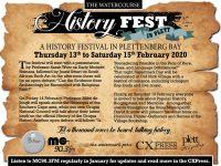 Watercourse History Festival 13 Feb