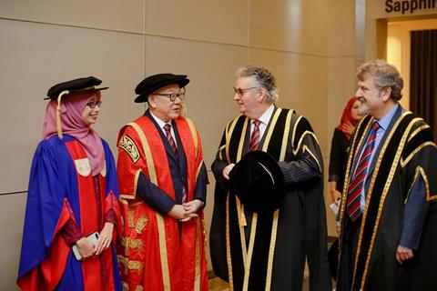 CELEBRATING SUCCESS AT THE 5TH MALAYA-WALES CONVOCATION