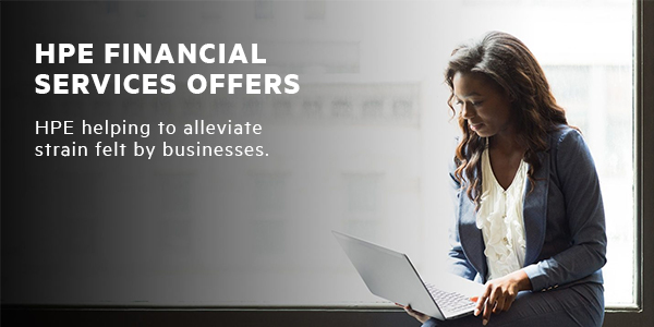 HPE Financial Services offering new programs to help customers and partners weather COVID-19
