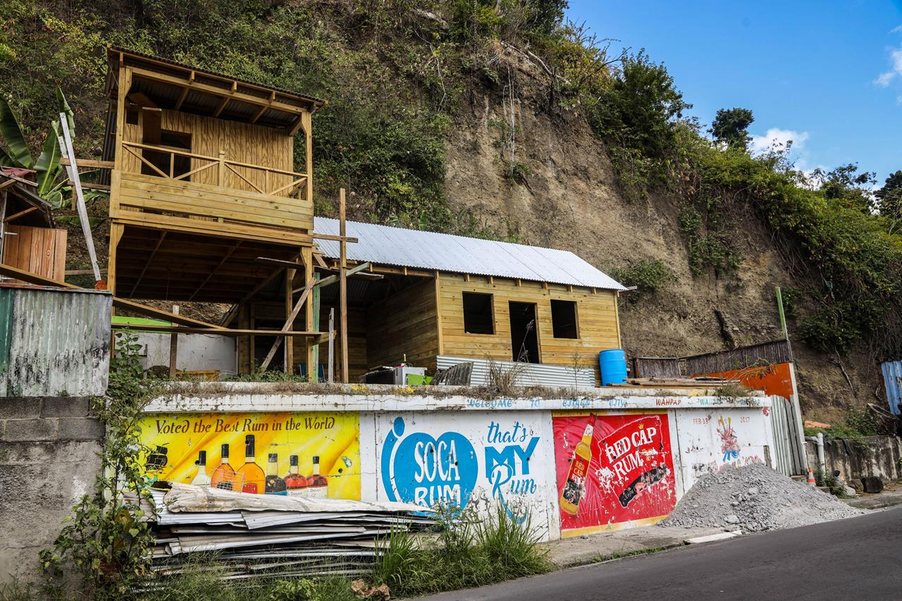 Dominica rebuilds after being devastated by hurricane Maria in 2017. Intense storms are expected to get more frequent as the climate warms.