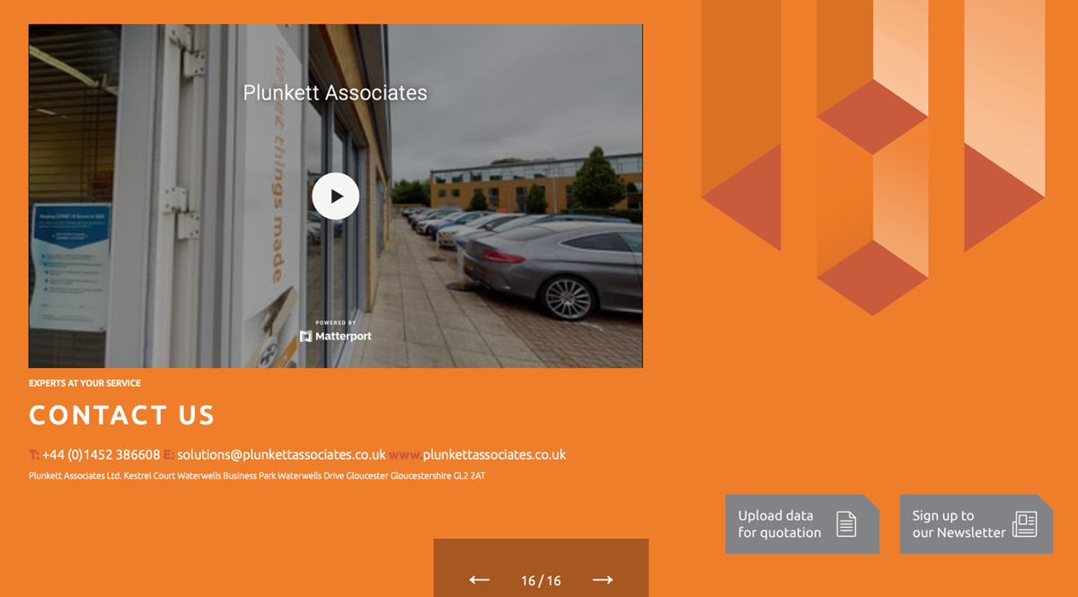 Plunkett's Interactive Brochure