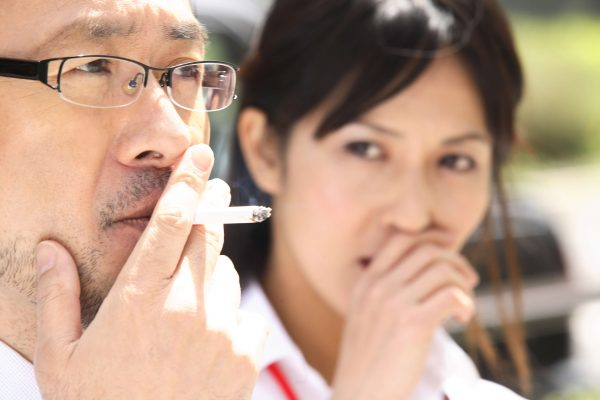 YOU CAN BUY SINGLE-OCCUPANT SMOKING BOOTHS FOR OFFICE CUBICLES IN JAPAN