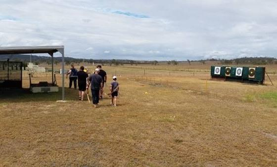 The Veteran Archers Squad in Toowoomba. Photo: Wendy-Leigh Osborne