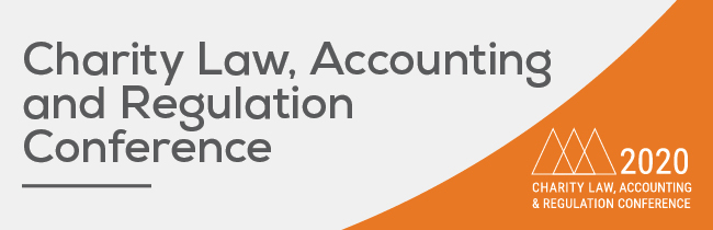 Charity Law, Accounting and Regulation Conference