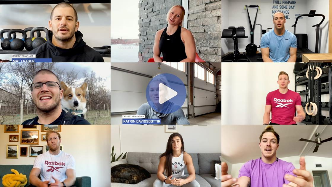Stronger Together: CrossFit Games Athletes Deliver Messages of Hope to Global Community