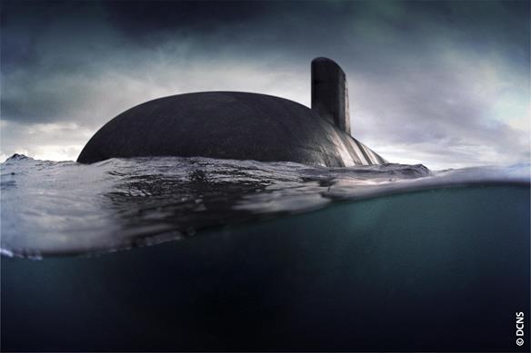 Next-gen submarine from DCNS