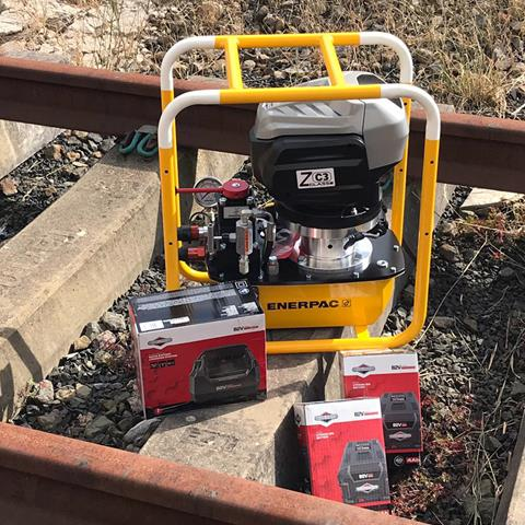 Arbil Rail Enerpac Battery Pack