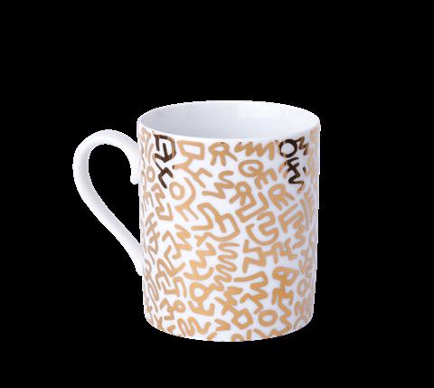 Keith Haring Gold Mug