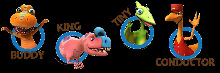 dinosaur train characters