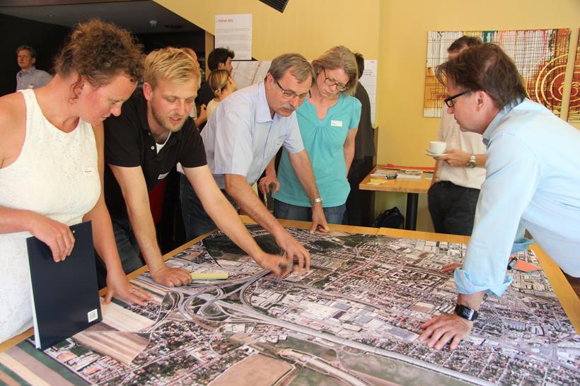 Planning students signpost the Vienna-Lower Austrian fringe area