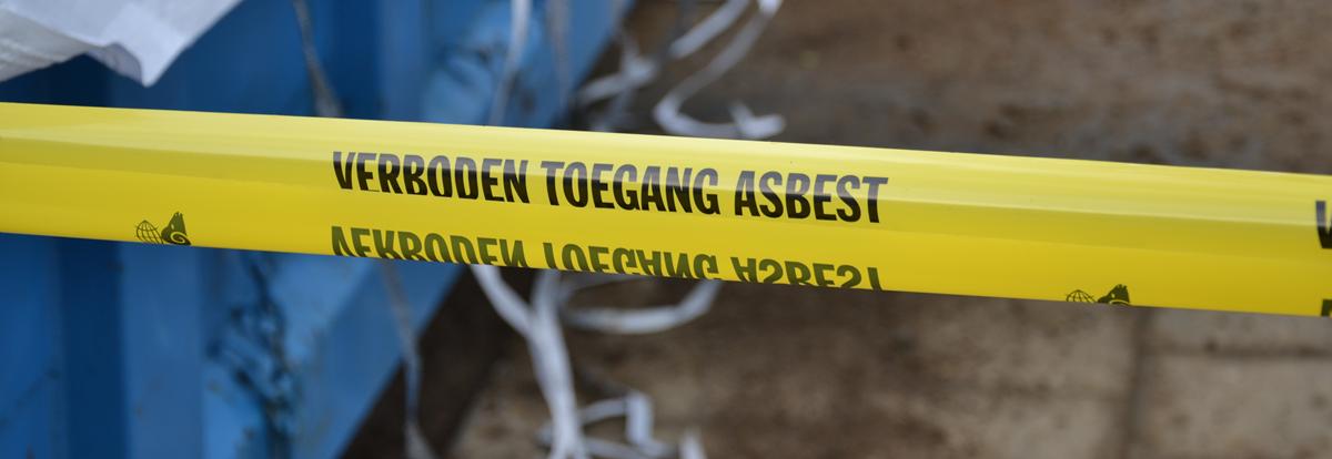 verboden asbest
