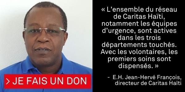 Témoignage du directeur de Caritas Haïti