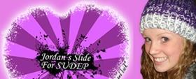 Logo: Jordan's Slide for SUDEP