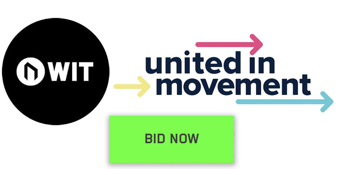 WIT Partners with United in Movement for Online Auction