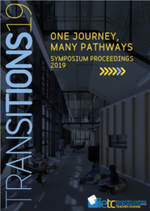 Cover of the Transitions19 report