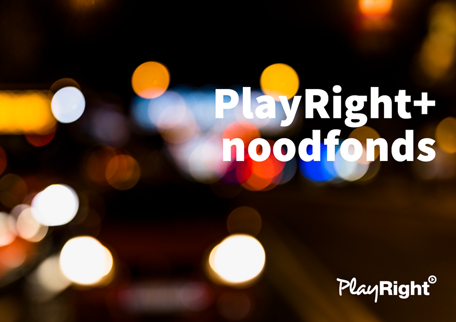 Steun nodig? Dien een aanvraag in om te genieten van steun uit het PlayRight+ noodfonds