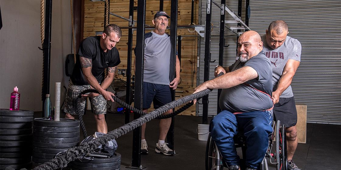 Orlando Veterans Affairs Hospital Uses Local CrossFit Community for Therapy