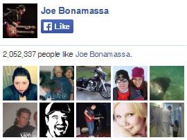 Joe Bonamassa on Facebook. 2,052,337 people like Joe Bonamassa. Yay!