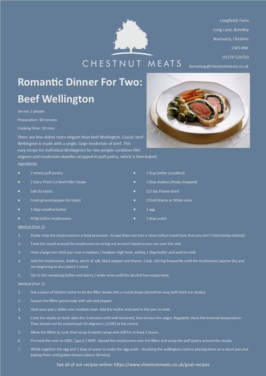 Beef Fillet recipe
