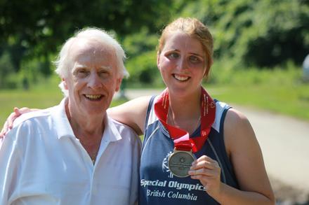 Frank Hayden and Mandy Manzardo Special Olympics