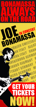 Bonamassa Always on the Road. Joe Bonamassa in concert. Get your tickes now!