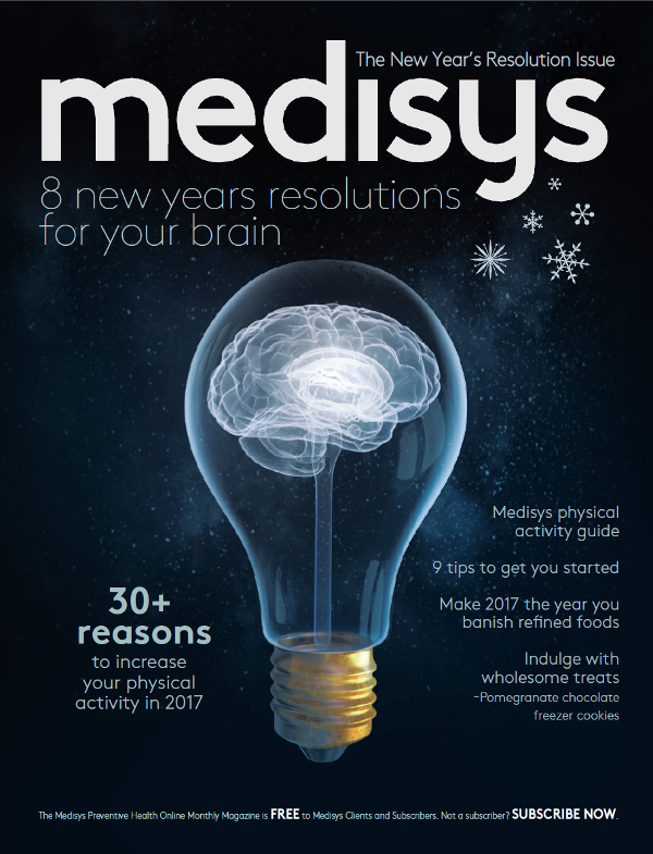 "MC&A January Newsletter - A great read - ""8 New Years Resolutions for your Brain"" brought to you by Medisys"