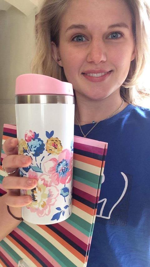 Cath Kidston Windflower bunch travel mug