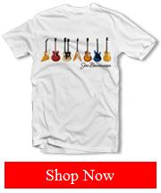 Joe Bonamassa Guitars White tee