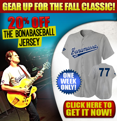 Gear Up For The Fall Classic! 20% OFF the BonaBaseball Jersey, one week only! Click Here to Get It Now!
