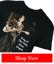 Tribut Apparel - Robert Johnson - King Of The Delta tee