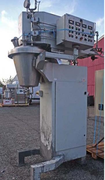 50 Litre 1 HP Rayneri Trimix TXR50 Stainless Steel Process Vessel