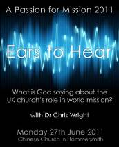 A Passion for Mission – 27th June 2011, UK