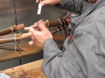 Splicing MV HV Cables