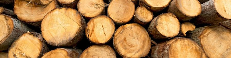 Image of log stack