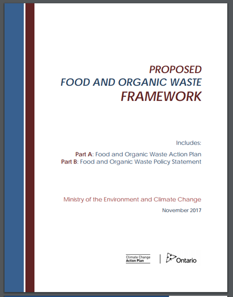Proposed Food and Organic Waste Framework