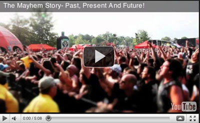 The Mayhem Festival Story- Past, Present And Future!