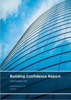 image of Building Confidence Report - Implementation plan