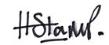 Henry Stamp signature