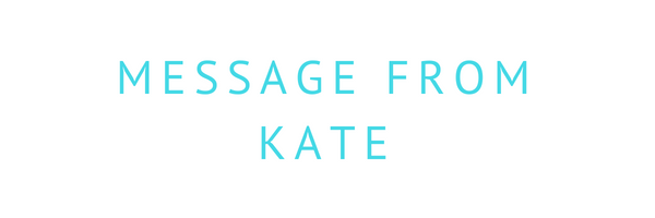 Message from Kate