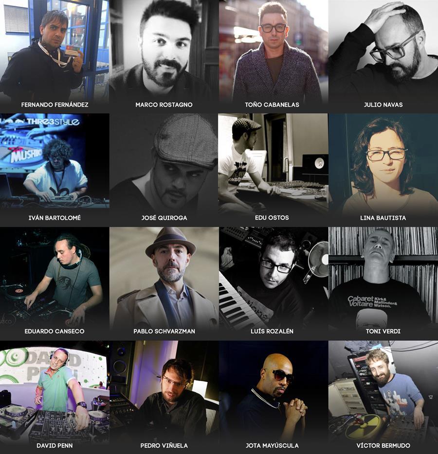 Profesores y productores de SAE Madrid