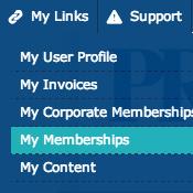 Update Memberships Screenshot