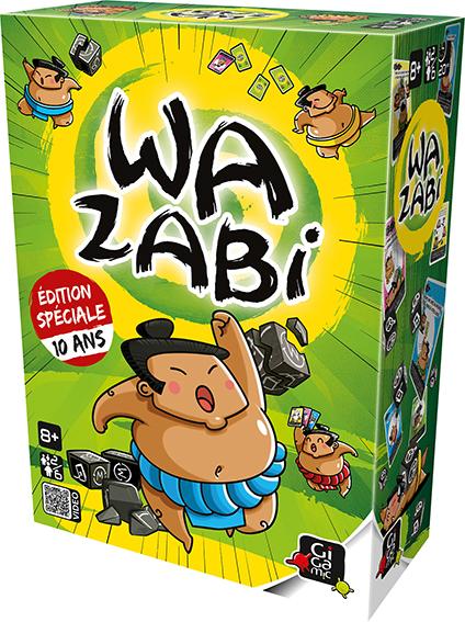 Boite Wazabi 10 ans
